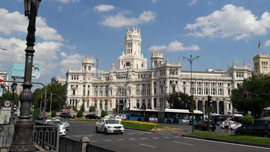 マドリード市庁舎(スペイン)
